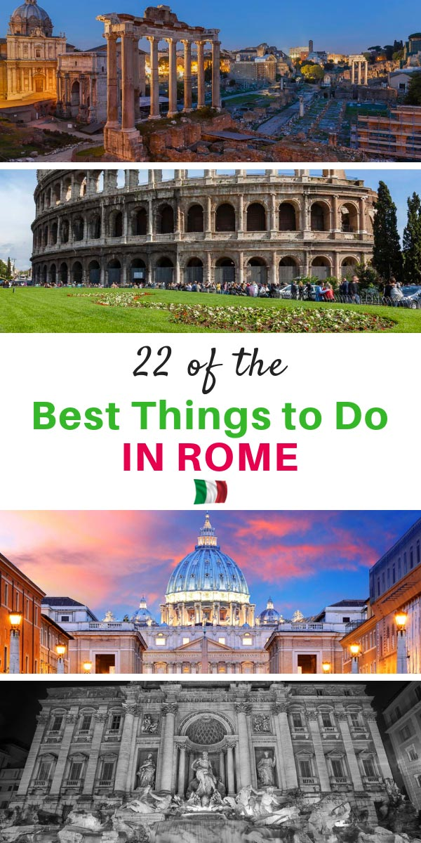 The Best Things to do in Rome Hands Down
