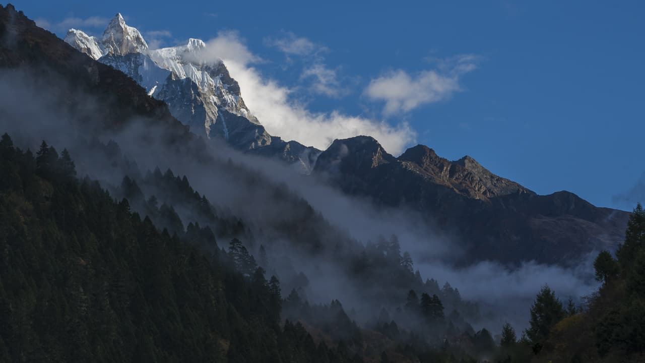 Bhutan trek in the Himalayas