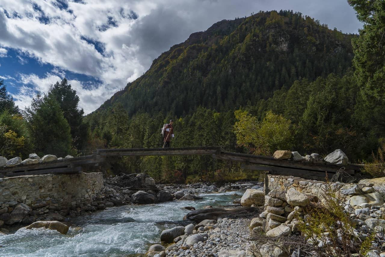 bhutan trek day 2