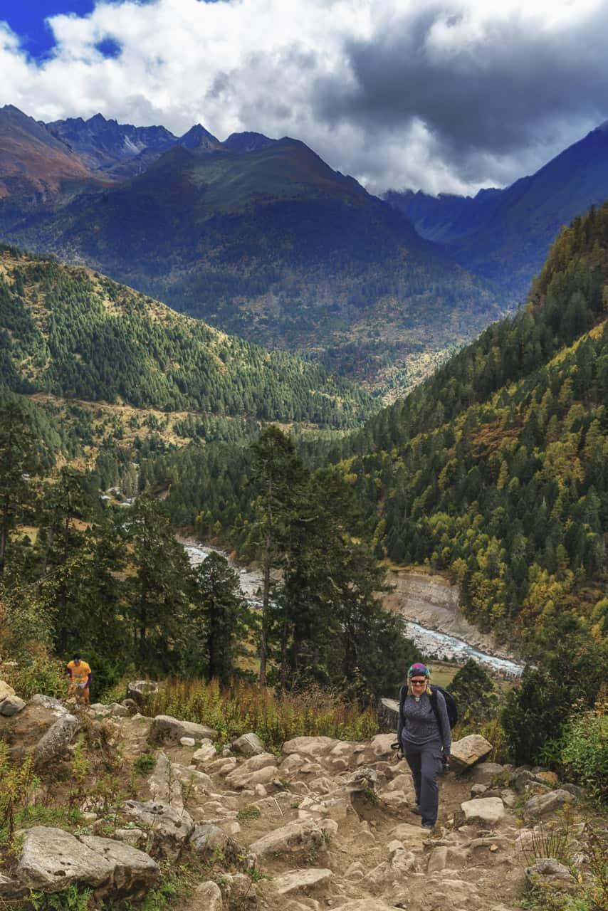 bhutan trek laya marathon