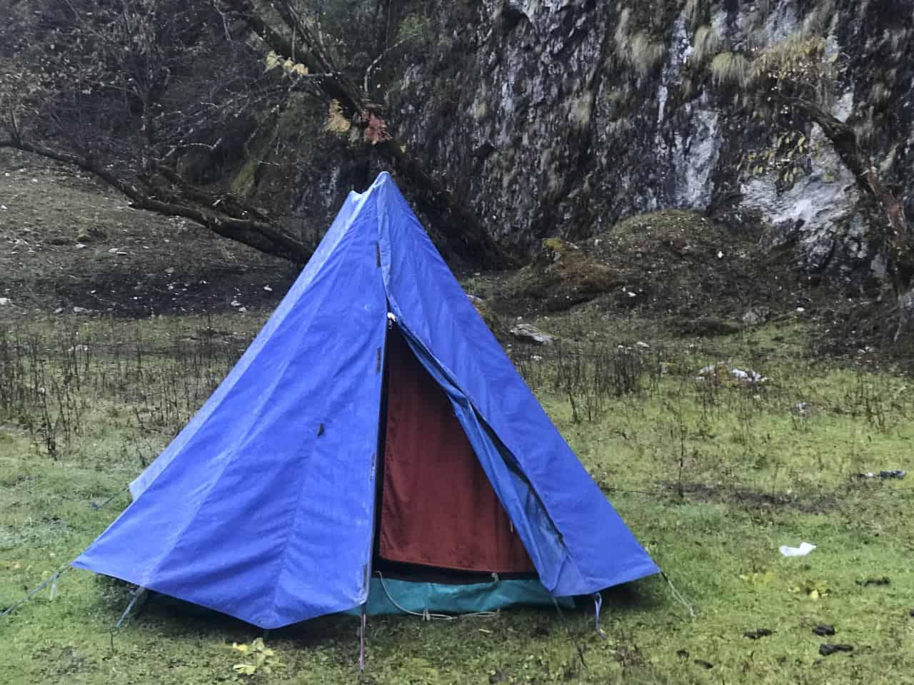 bhutan trek tents