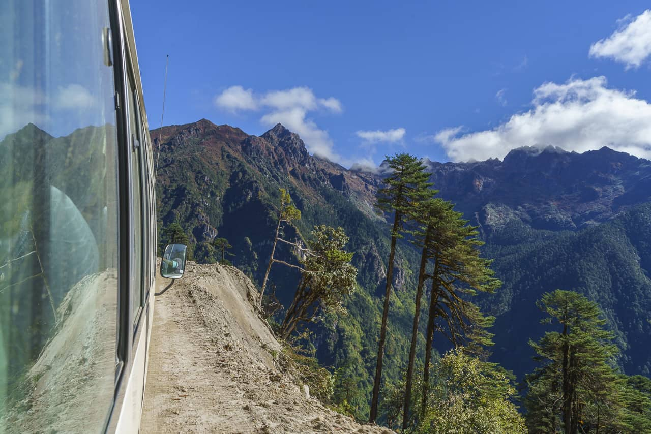 Bhutan trek transportation