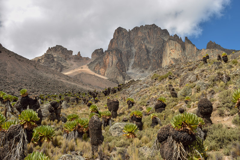 Biggest, Tallest Mountains - Mount Kenya