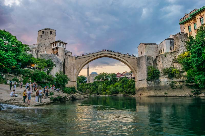 bridge of mostar bosnia