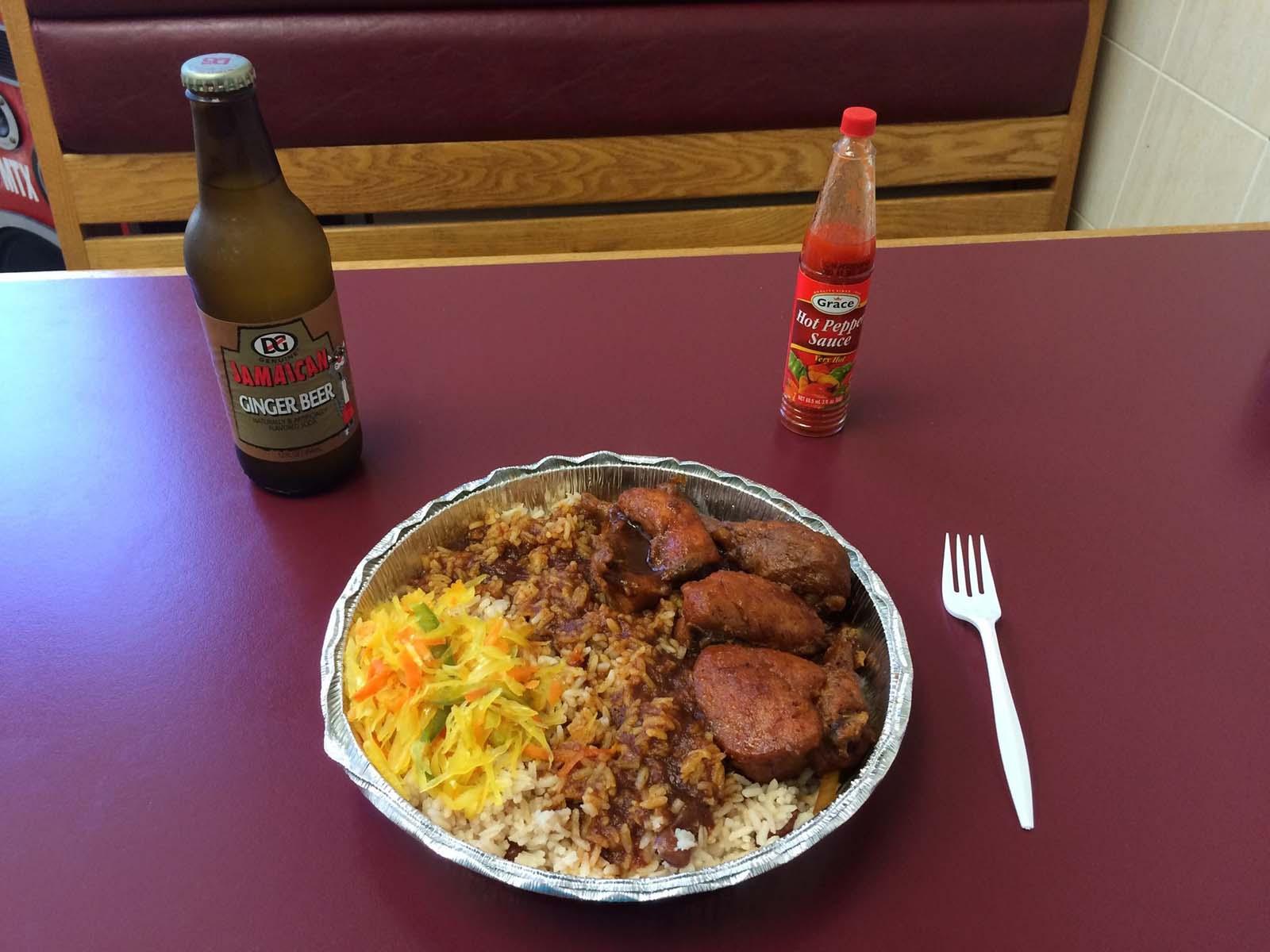Brown Stew Chicken in Jamaica
