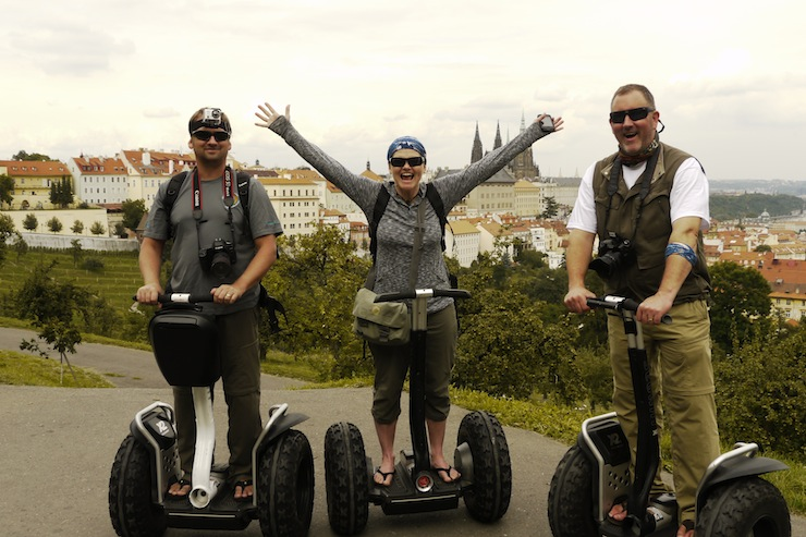 Cool City tour of Prague on Segways