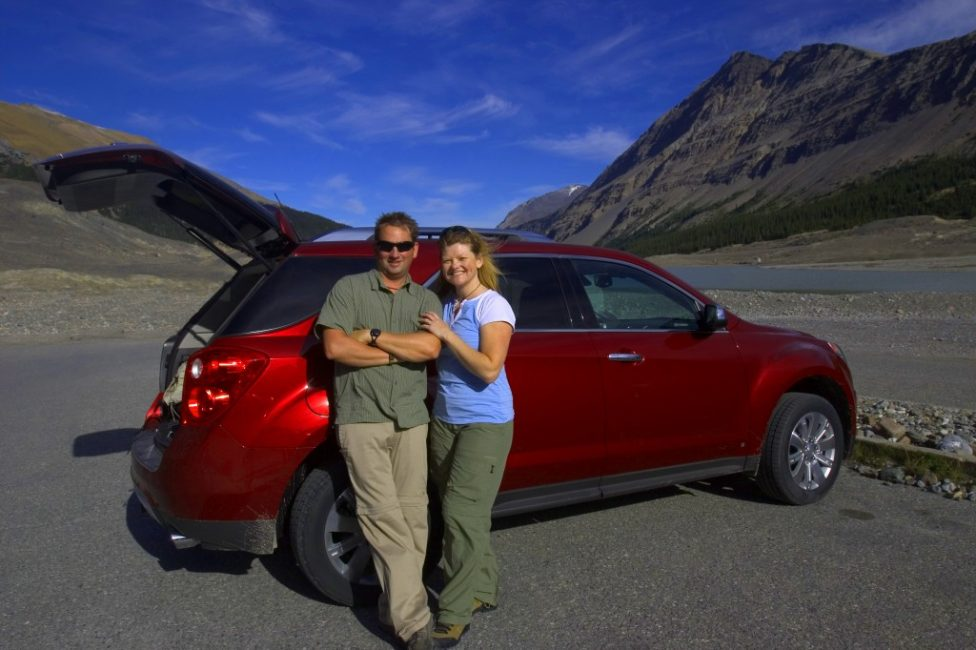 Canada's Adventure Couple with the 2010 Chevy Equinox