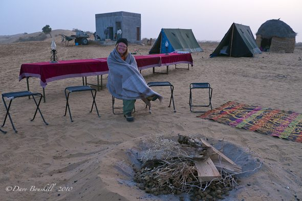 Our Desert Camp in Bikaner India