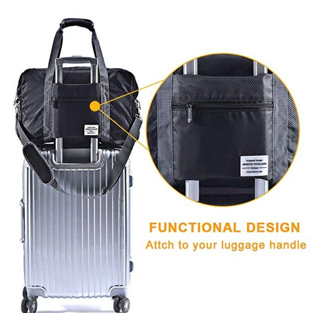 Foldable Carry on makes a great small travel gift