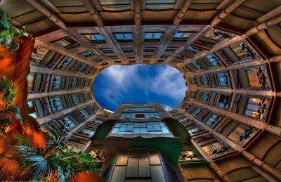 works of gaudi in Barcelona