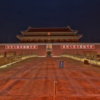 HDR-Beijing-Chairman-Mao-Gate-Night