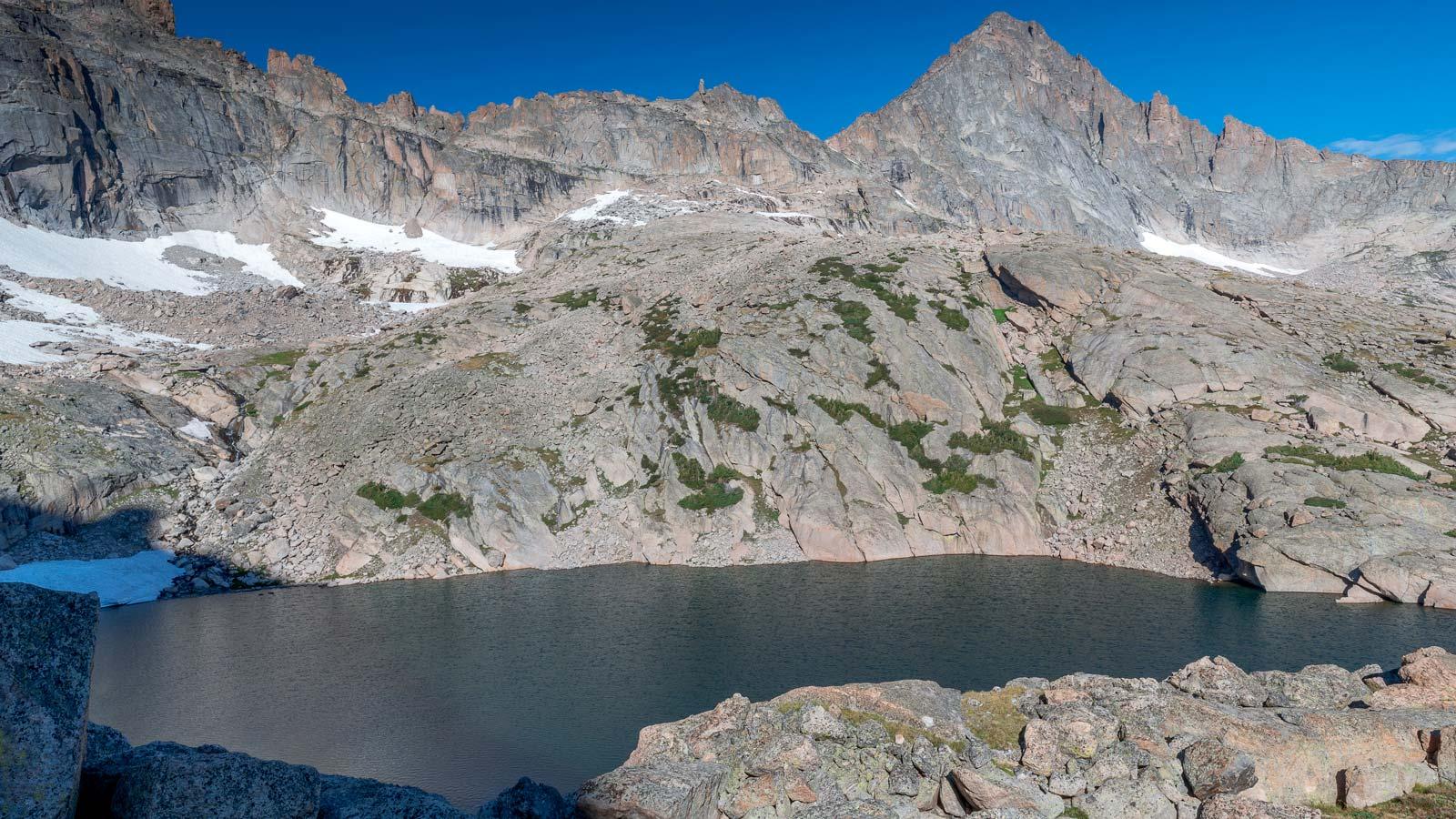 Chasm Lake Rocky Mountain-National Park