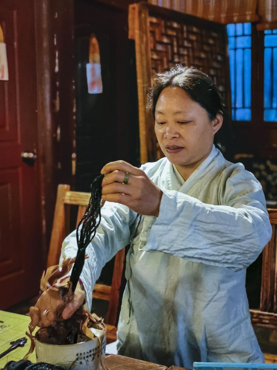 Chinese Kun Opera performer