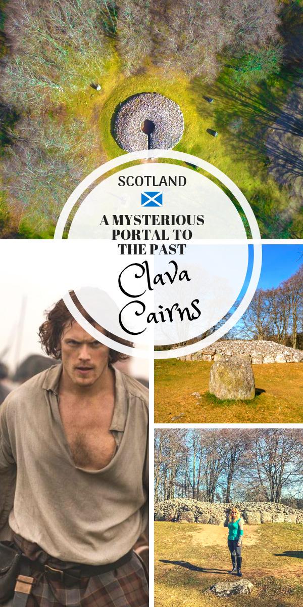 Clava Cairns Scotland Pin