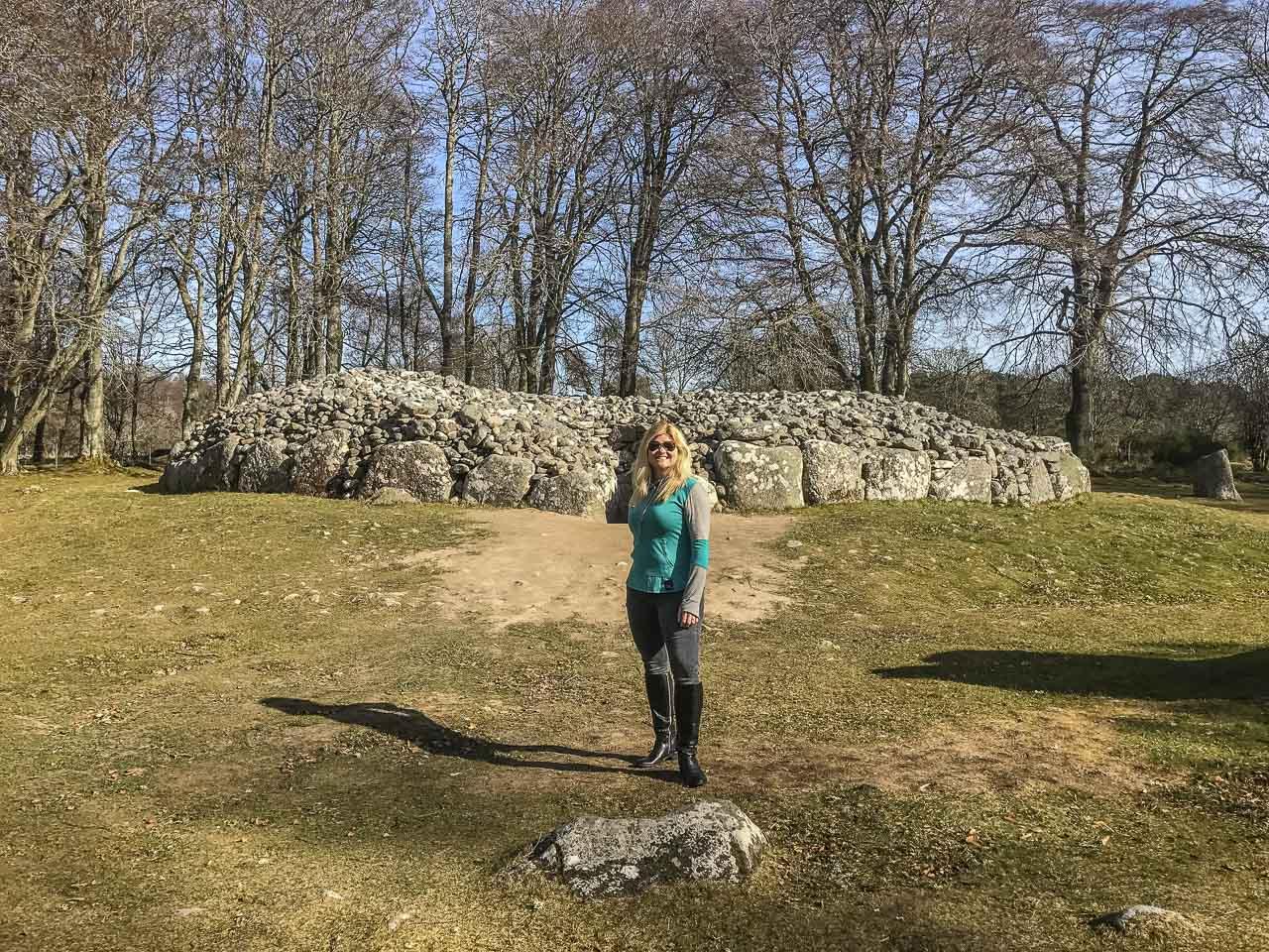 Clava Cairns Scotland Ruins