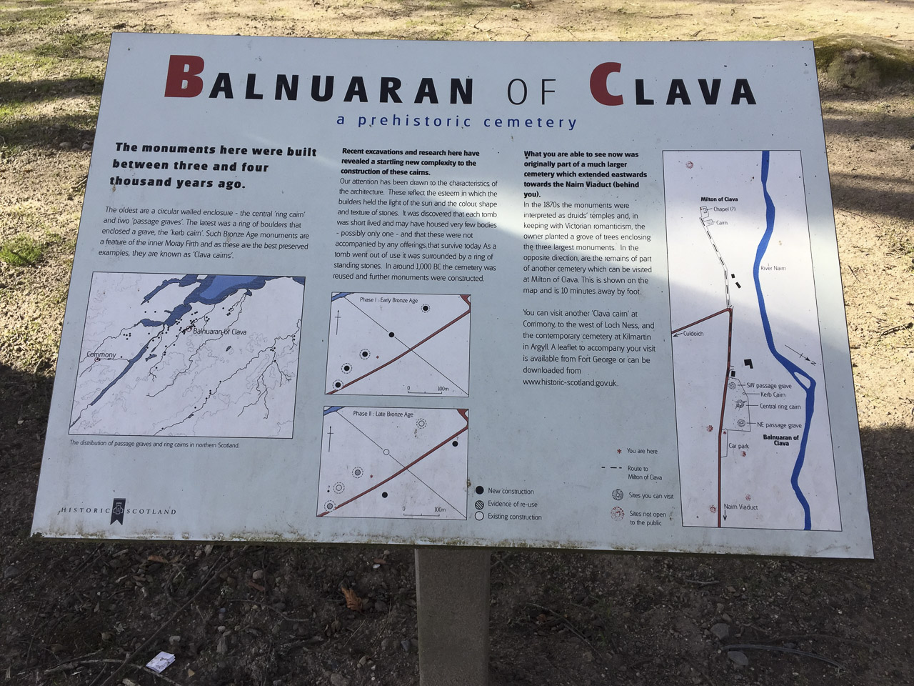 What is Clava Cairns