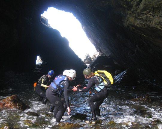 Coasteering Presliventure in Wales