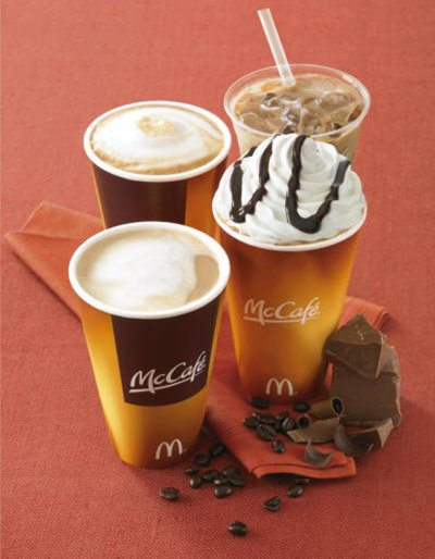 Coffee to go mcdonalds france