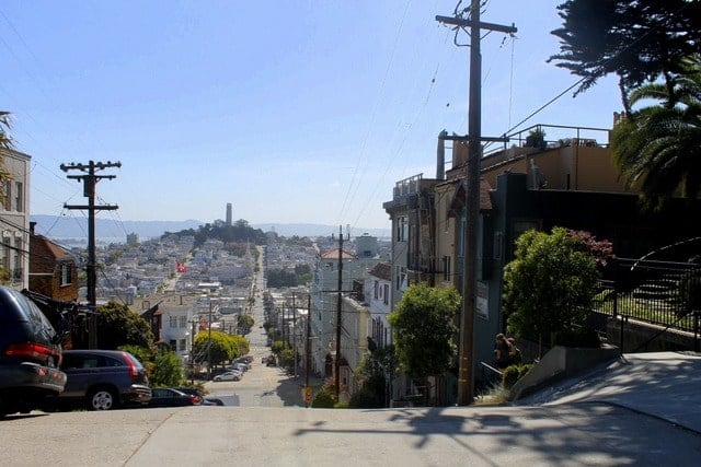 where to stay in san francisco telegraph hill