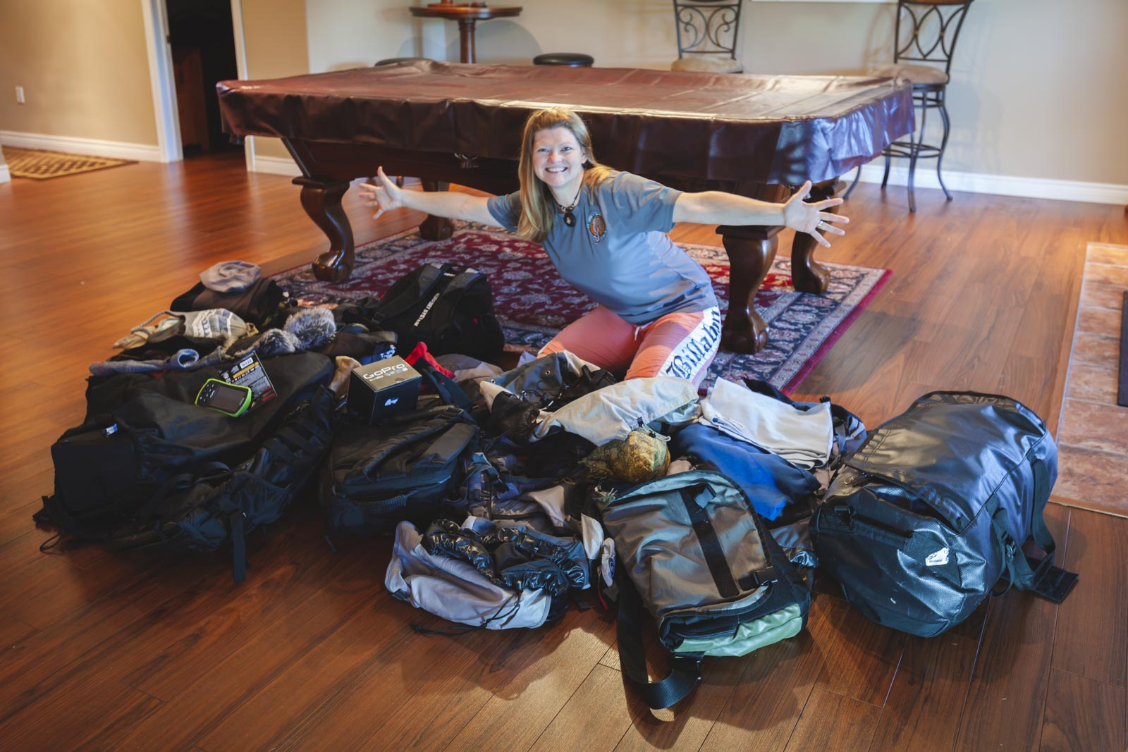 travel mistakes over packing