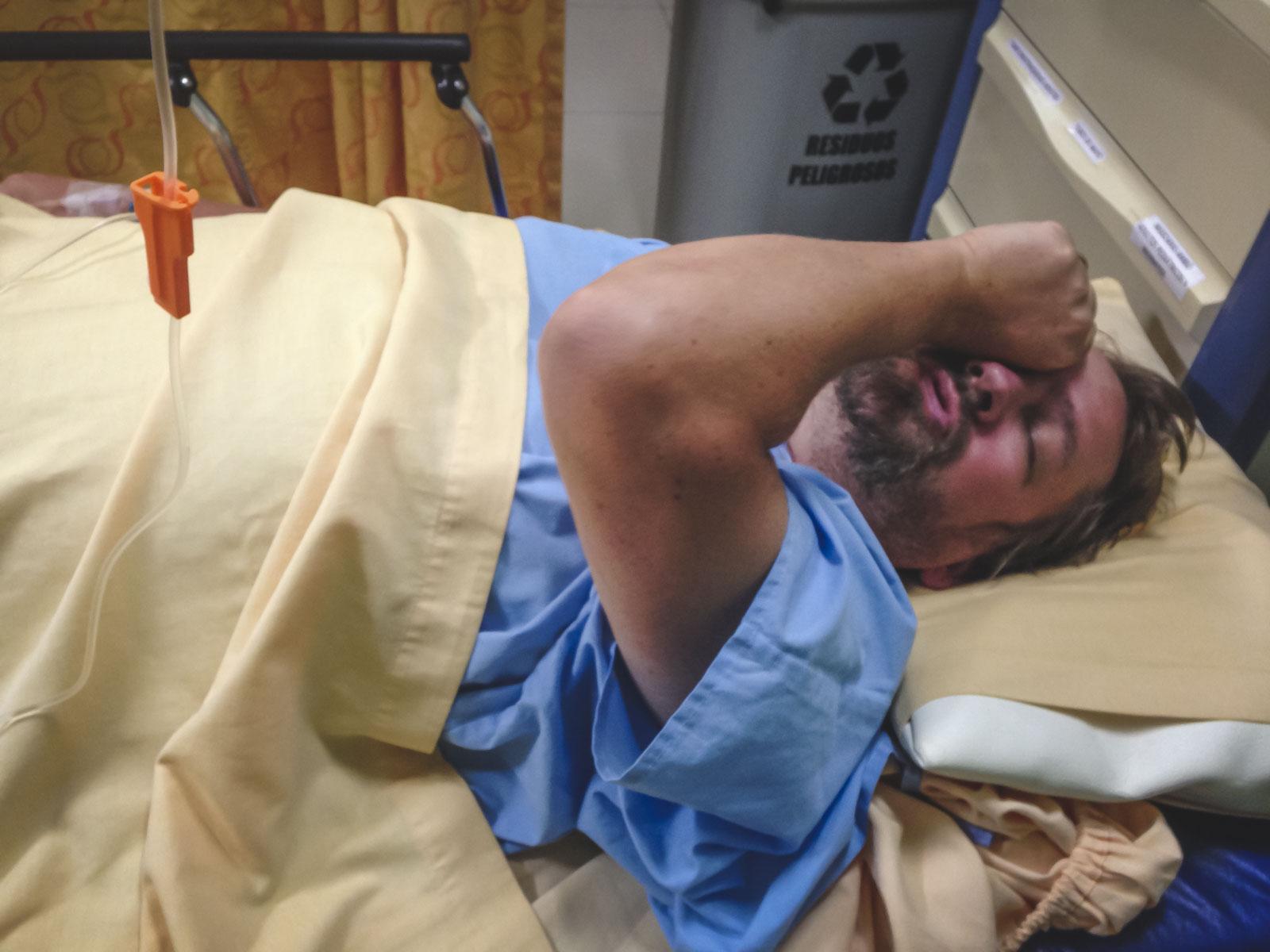 Broken Back in Amazon travel Insurance