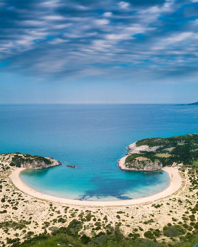 costa navarino horseshoe beach