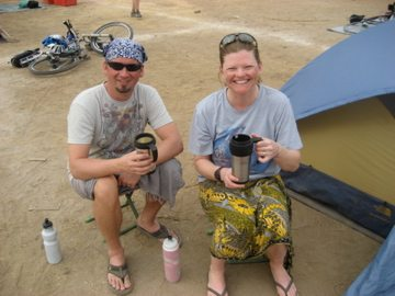 Travel as a couple and survive camping