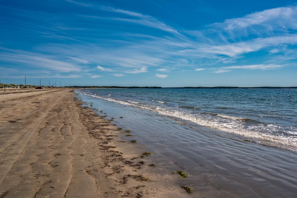 visitez nova scotia crescent beach