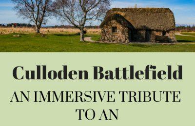 Culloden Battlefield in Scotland Pin