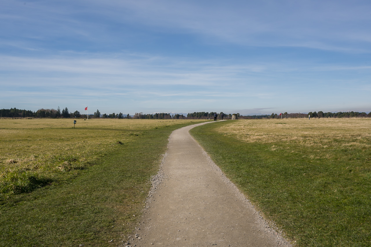 A Trail through the history of the Culloden Battlefield