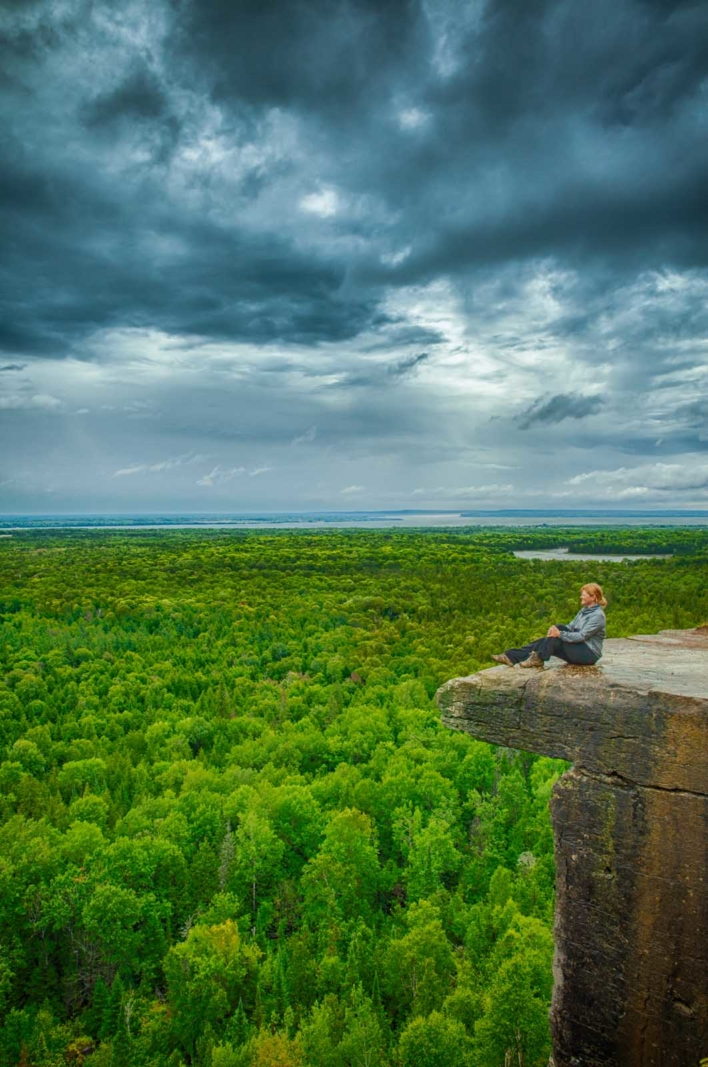 manitoulin island's cup and saucer trail