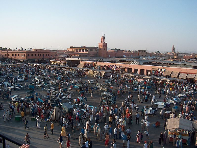 DJamaa el Fna in Marrakech