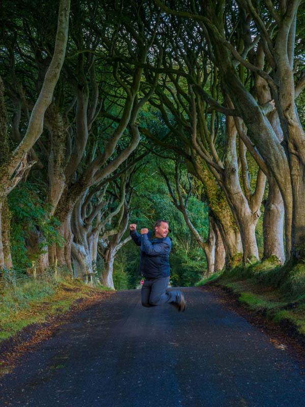 Dark Hedges Ireland, Dave