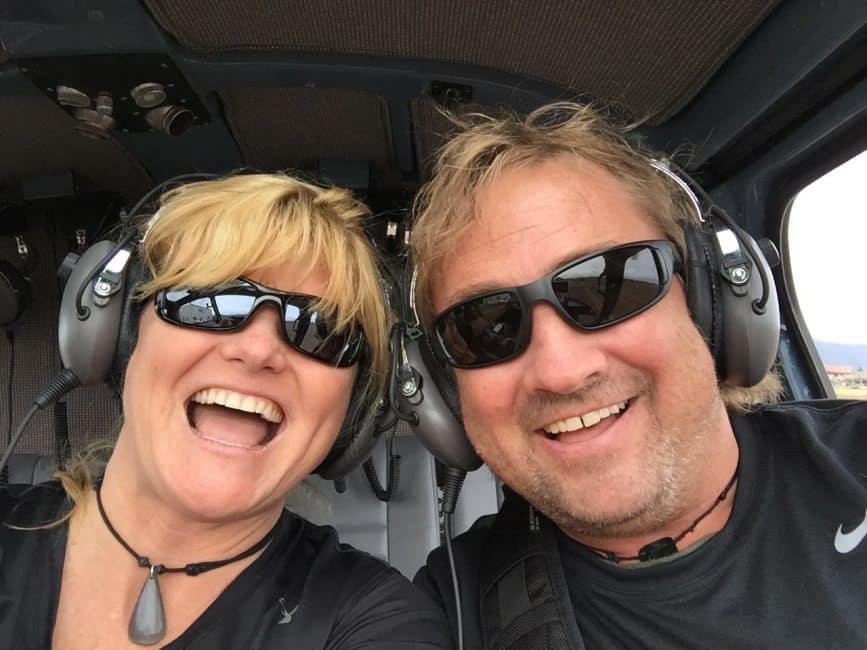 Dave and Deb Helicopter