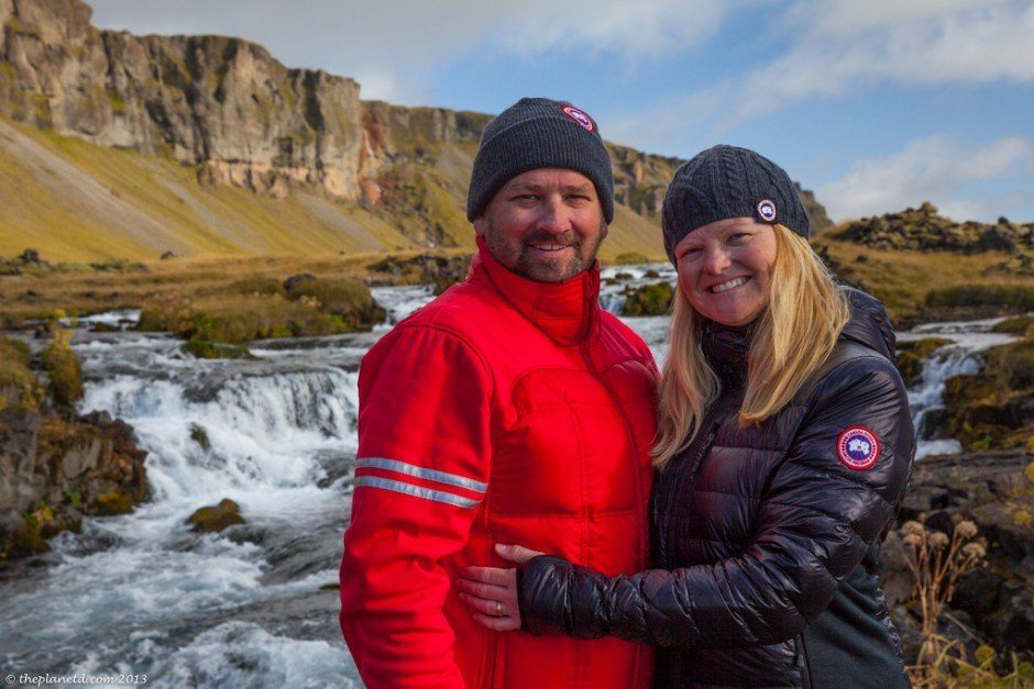 dave and deb in iceland