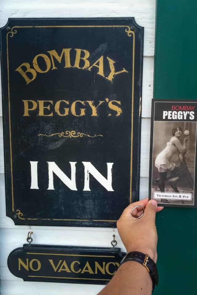 bombay peggy's brothel in Dawson City