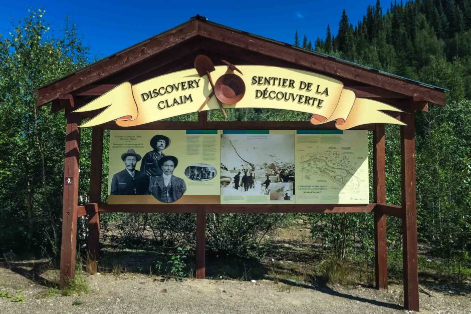 discovery claim national historic site dawson city yukon