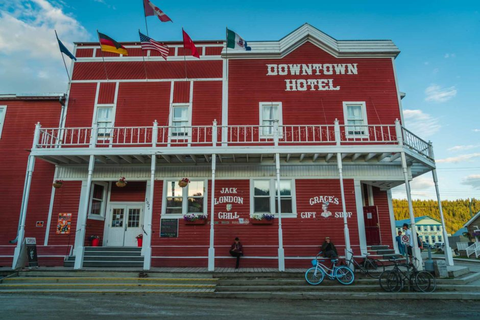 downtown hotel dawson city