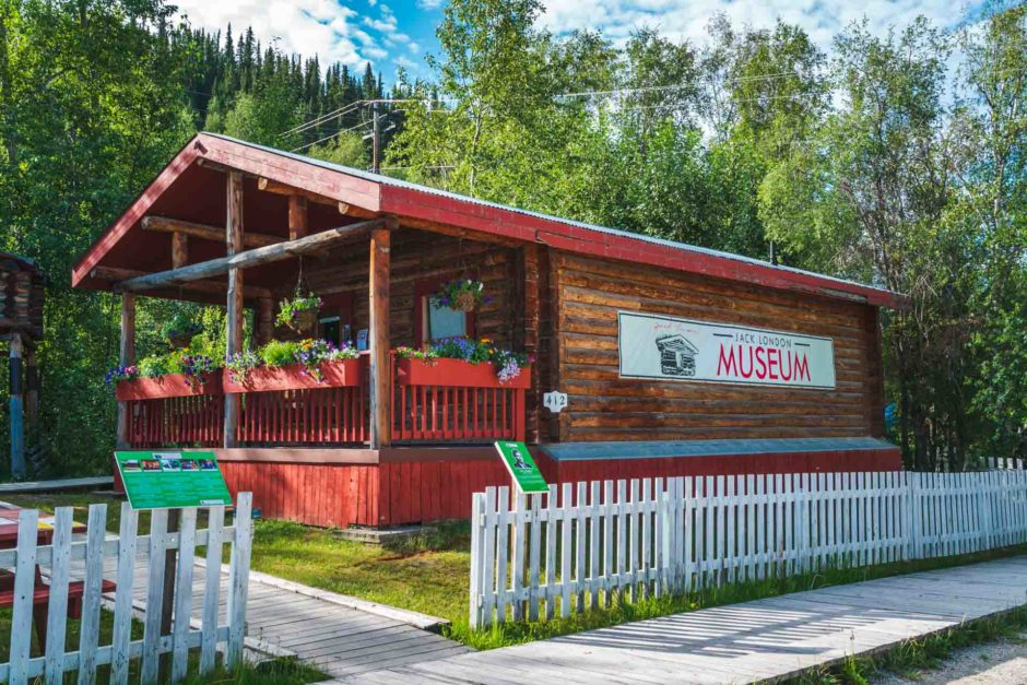 jack london museum dawson city yukon