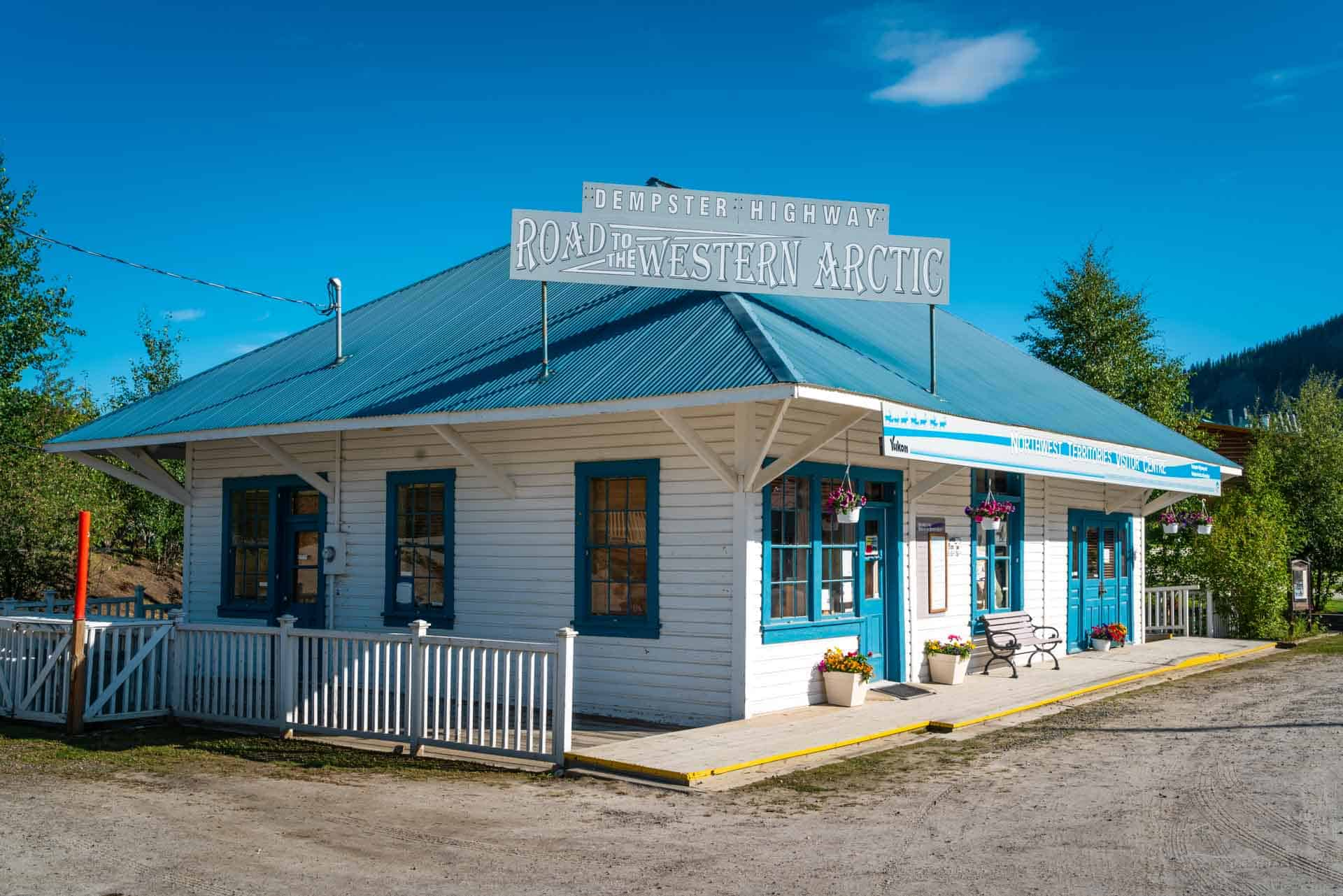Dawson City Yukon visitor's centre