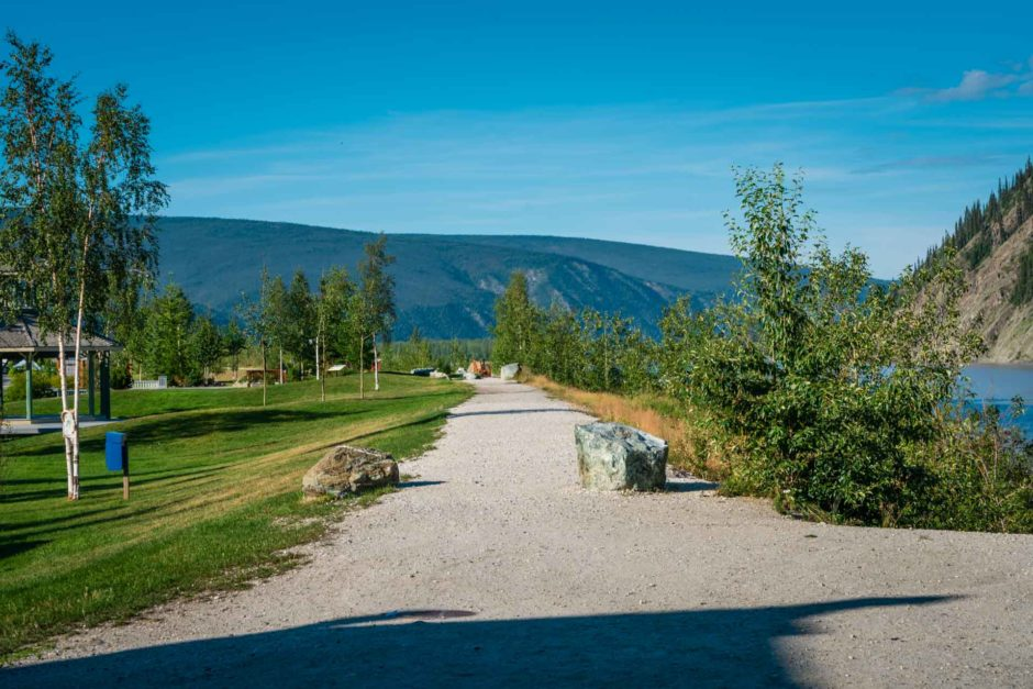 waterfront trail of dawson city