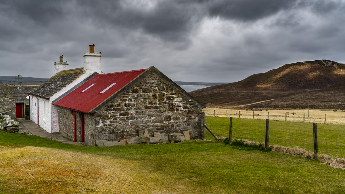 Farmhouses around Dunnet Head