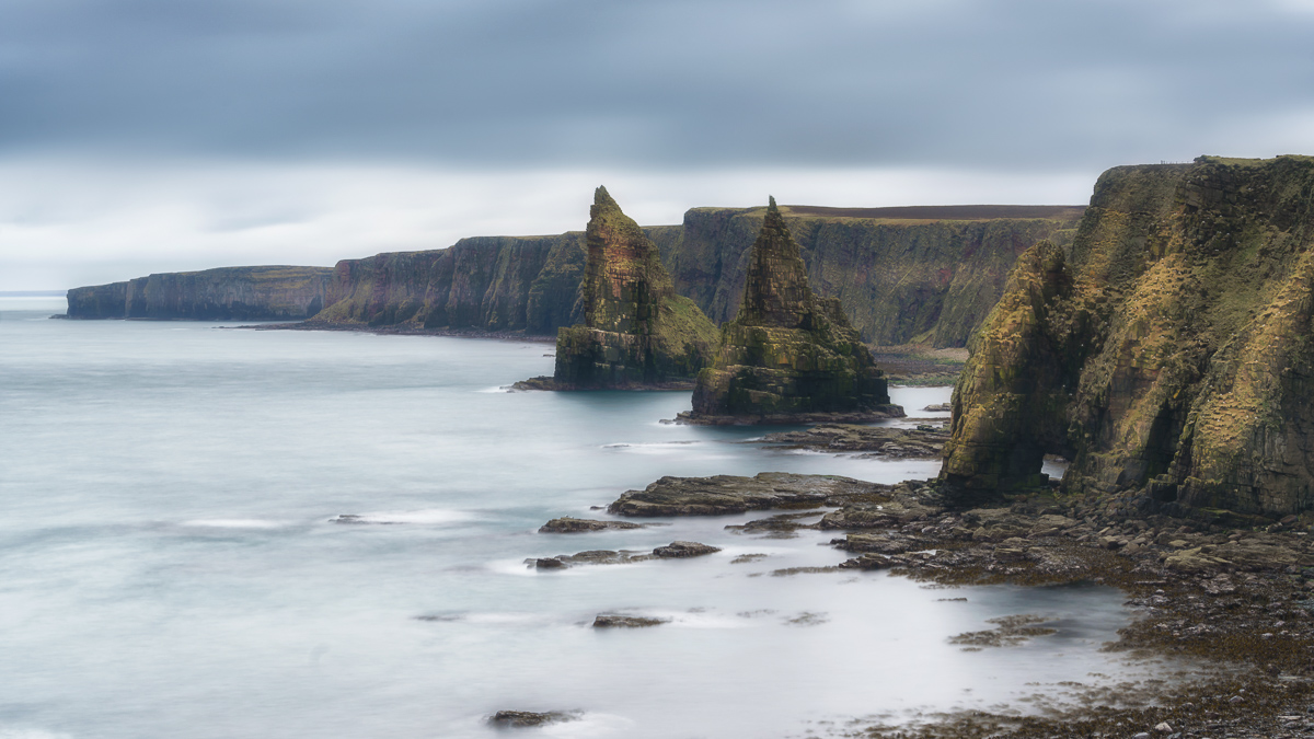 Duncansby Stacks near Dunnet Head Scotland