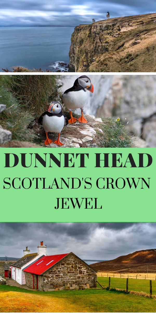 Dunnet Head Scotland Pin