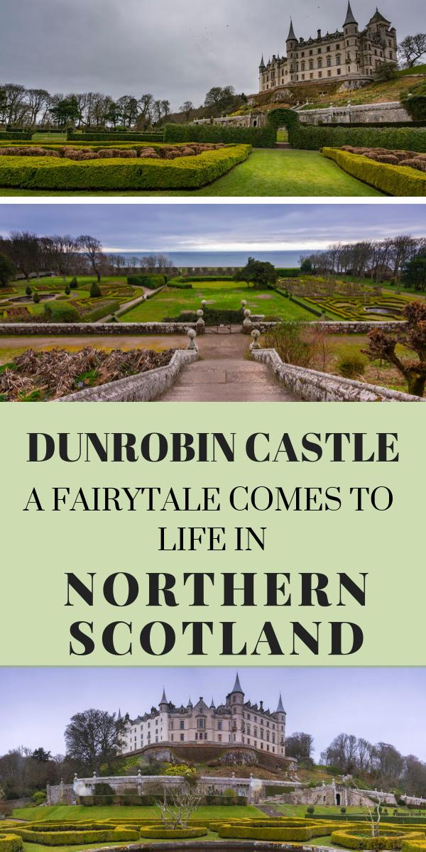Dunrobin Castle: A Fantasy-Like Castle in Northern Scotland