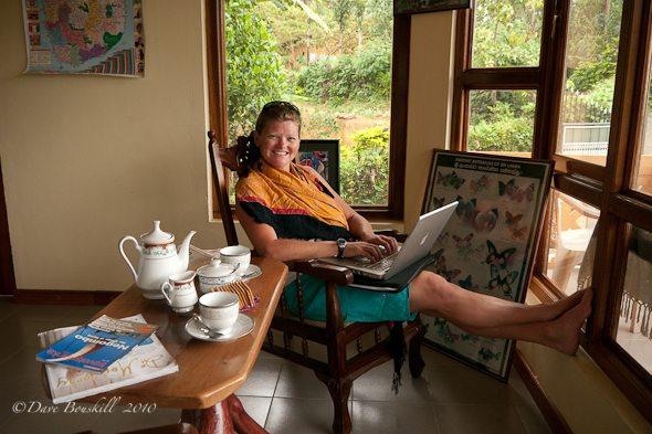 Tea Time and blogging in Sri Lanka