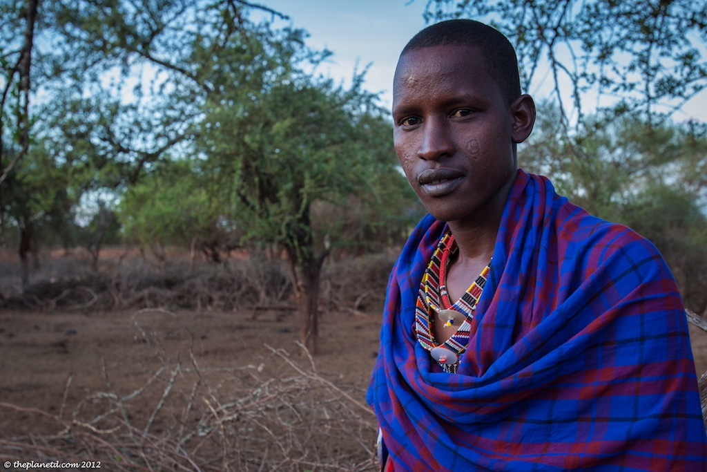 year in pictures masai man kenya