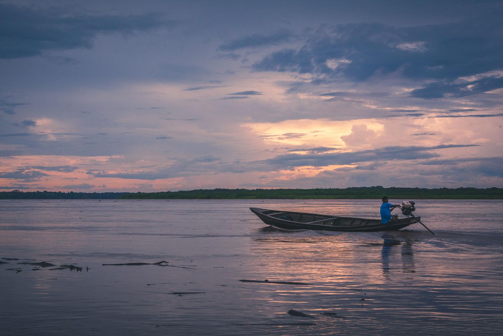 Adventure on the Amazon River