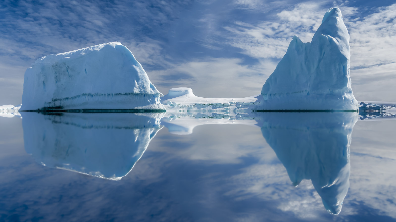 Ice Formations in Antarctica