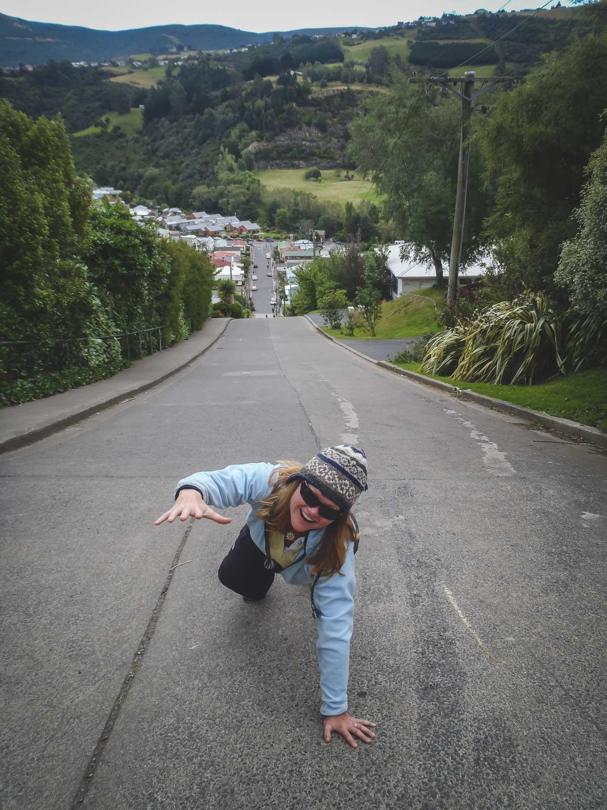 Fun New Zealand Fact Baldwin Street